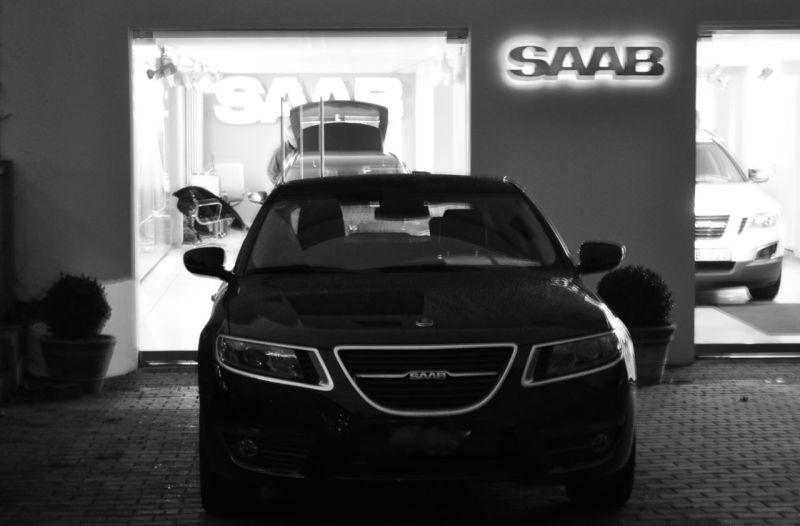 Saab Bluestime. Med Saab 9-5 NG. © 2014 saabblog.net