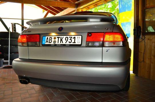 Saab 9-3 Aero 2001. ©2014 saabblog.net