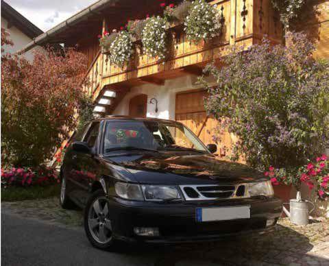 Saab 9-3 Coupe - bröllopsbilen
