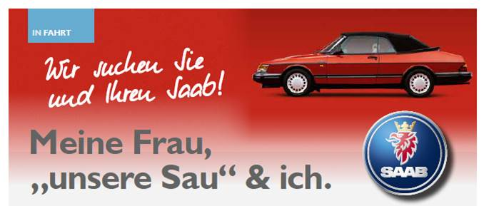 Saab Inside, Heft 2. Erster Platz Leserartikel.