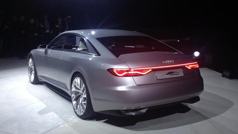 Audi Prologue. Hack med Saab 9-5-obligationer.