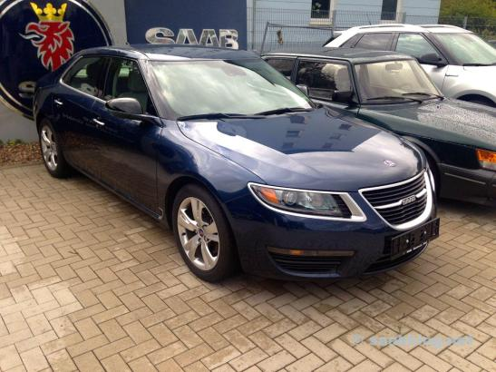 SAAB 9-5 NG MY 2011, original condition.