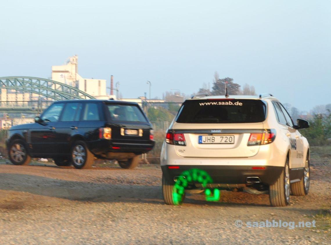 Saab 9-4x och Range Rover. En utländsk make, bara idag på bloggen.