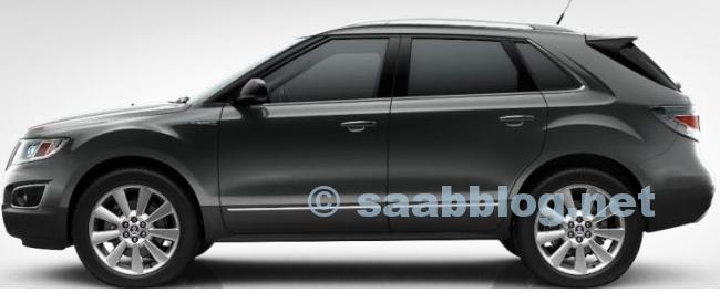 """Saab 9-4x, Icepearl Metallic, 20 """""""