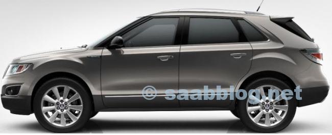 """Saab 9-4x, Moorland Metallic, 20 """""""