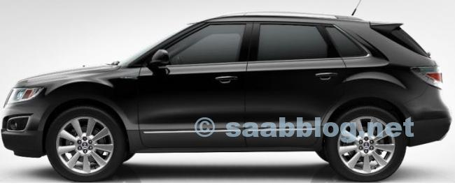 "Saab 9-4x, Zodiacschwarz Metallic, 20"""