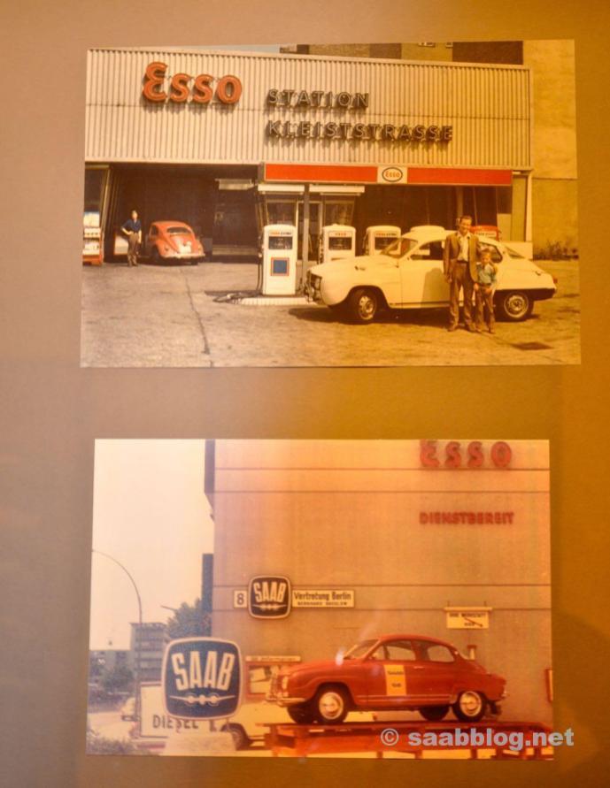 Saab Historie bei Bredlow