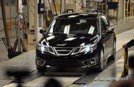 Den första NEVS Saab är klar.