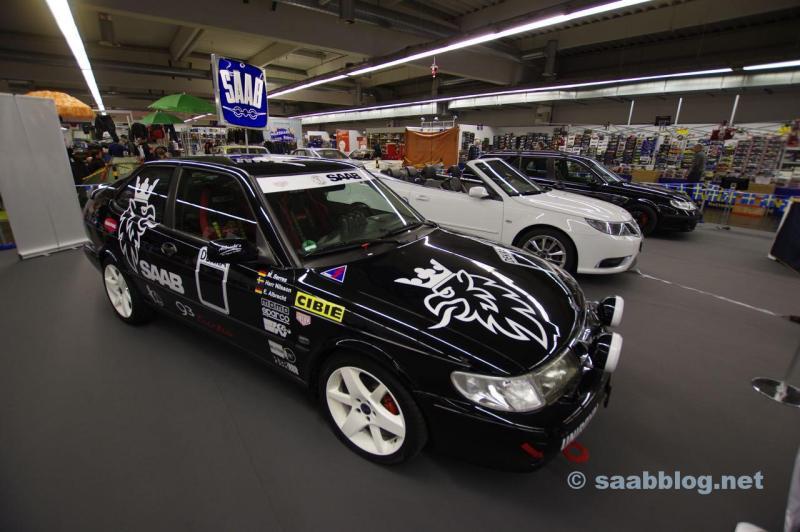 Saab 9-3 I Coupe auf der Essen Motorshow