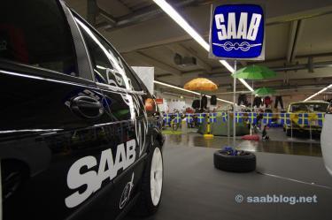 Traditioneel Saab-logo