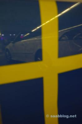 Zweedse flair op de stand van Saab
