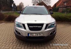 Droom auto. Saab 9-4x.