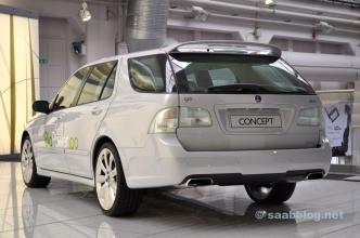 Saab 9-5 BioPower 100-concept