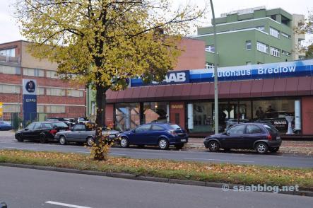 Saab Bredlow Berlin, Saab Tradition gelebt.