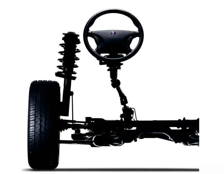 Saab Original Ersatzteile. Bild: Orio AB