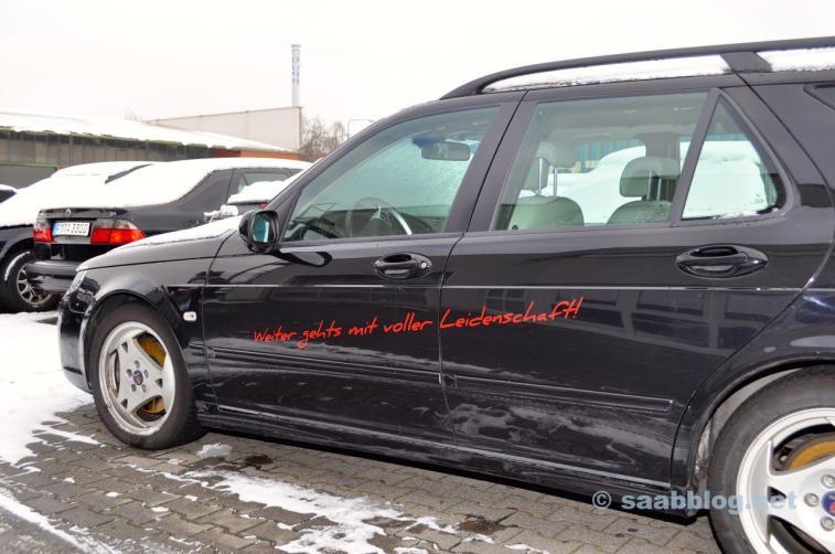 Saab - weiter mit Leidenschaft
