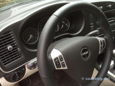 Saab Super-Sport Lenkrad