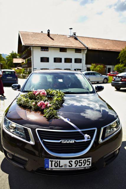 Hochzeits-Saab von Swantje und Johann
