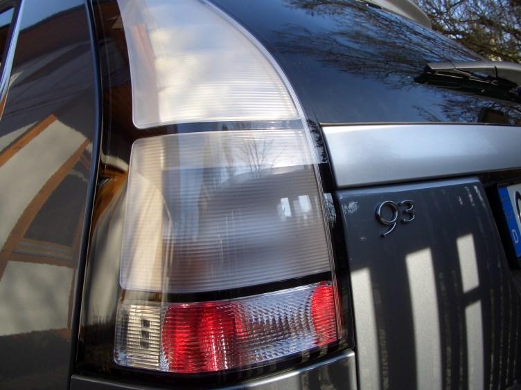 Detalhe: Saab 9-3