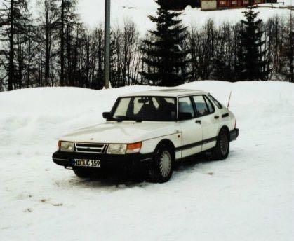 Saab 900, el primer Saab de Steffen