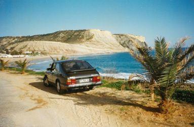 2. SAAB 900 Turbo 16S nog steeds met Duitse registratie in Portugal