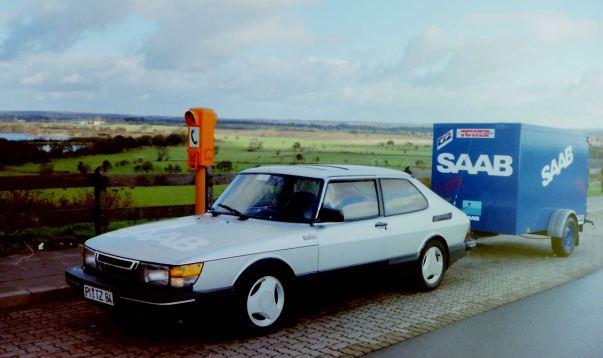 3. SAAB 900 Turbo 16S em movimento