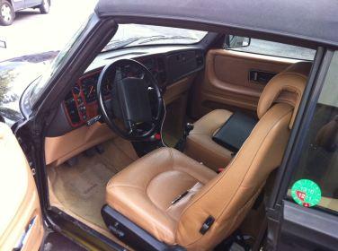 Saab Cabriolet von Innen