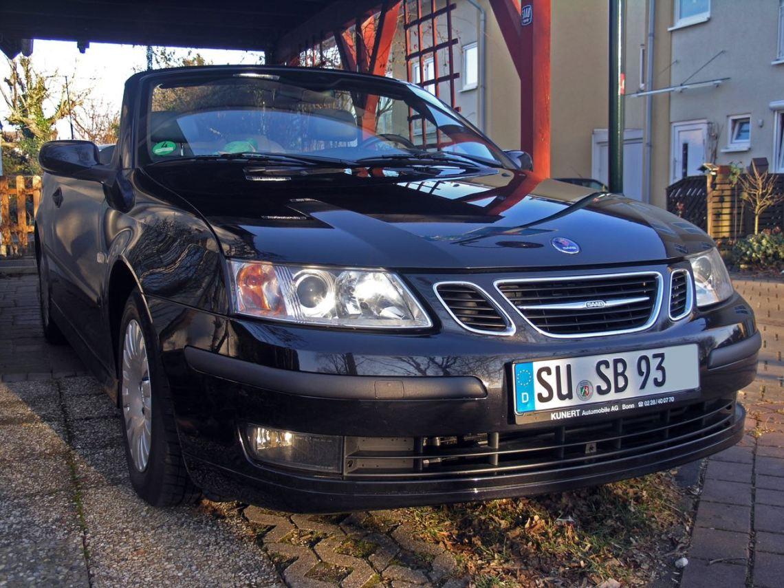 Fährt seit 70.000 km mit Autogas: das Saab 9-3 Cabriolet von Thorsten