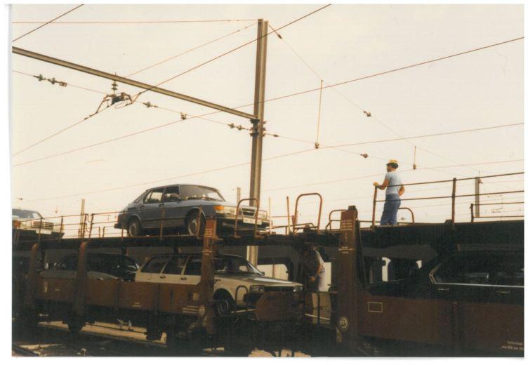 1985 SAAB 900 Turbo in France