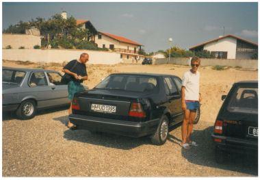 1989 SAAB 9000 CD in France