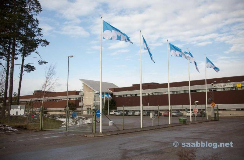 A nova aparência do Orio HQ em Nyköping