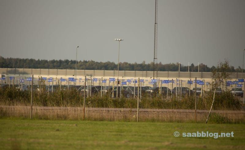 Saab plant, the remaining 100 new cars will be rebuilt and completed