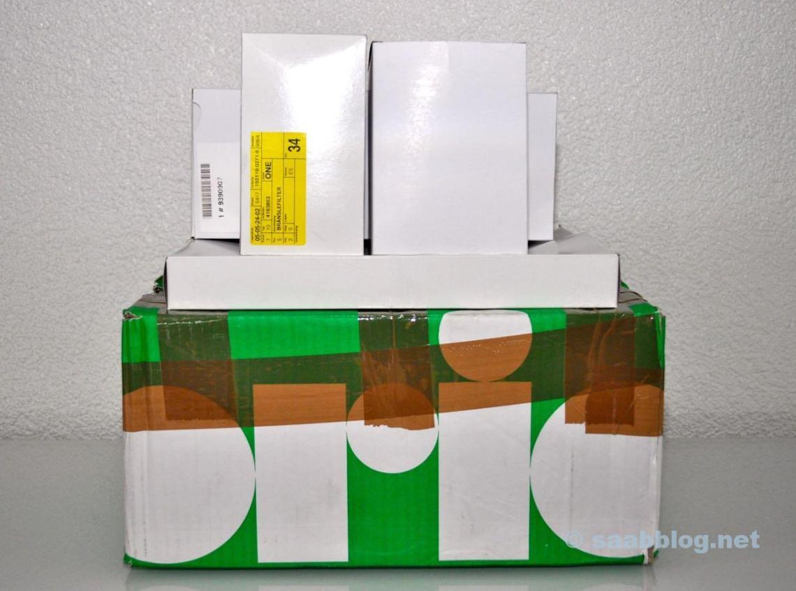 Orio Paket mit Original Teilen für die Wartung