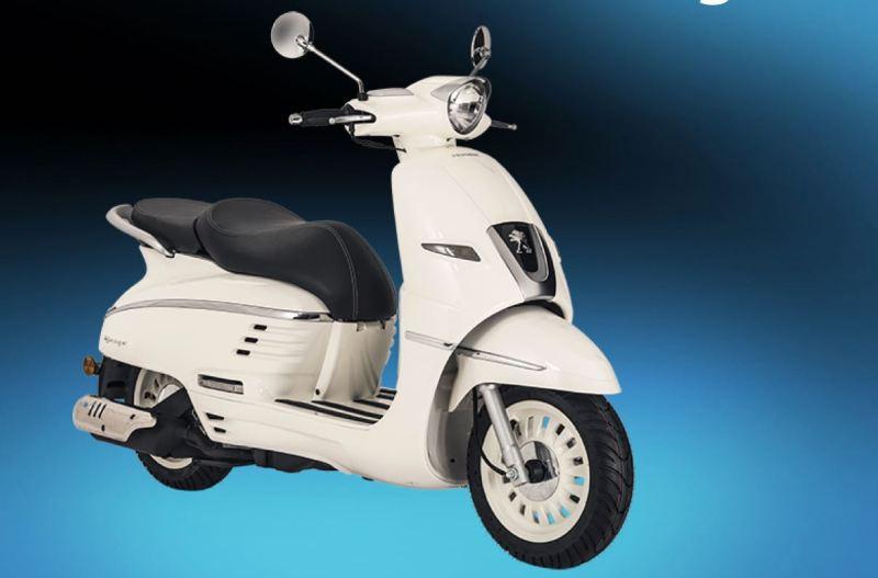 Peugeot scooter. Nu indisk. Till 51%.