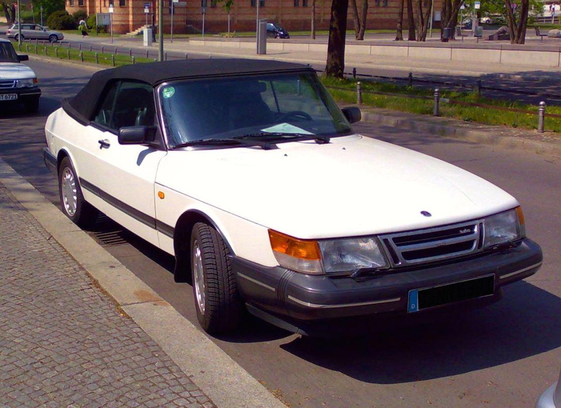 Saab 900 Cabriolet von Hendrik