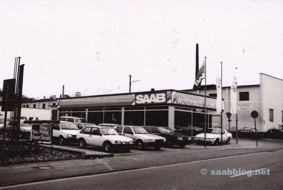 Autohaus Kunert, Neubeginn mit Saab.