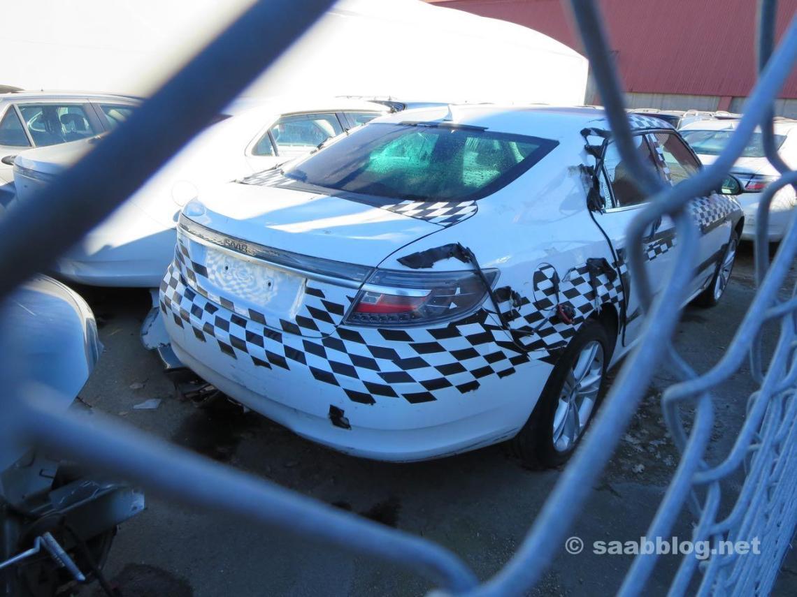 Испытательные автомобили Saab в Тролльхаттане