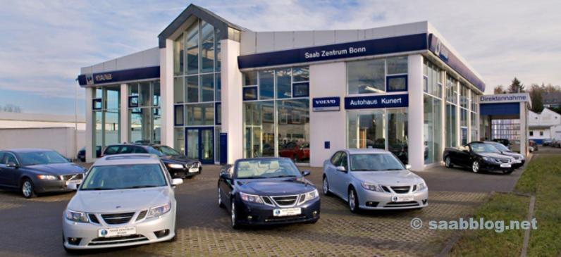 Saab Zentrum Bonn