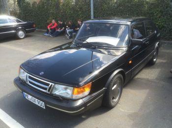 Blieb stehen. Extrem Preis Saab auf der Techno Classica. Bild: Goetz