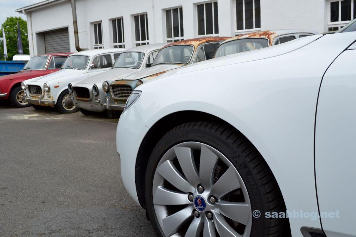 Saab 9-5 meets Lancia Appia