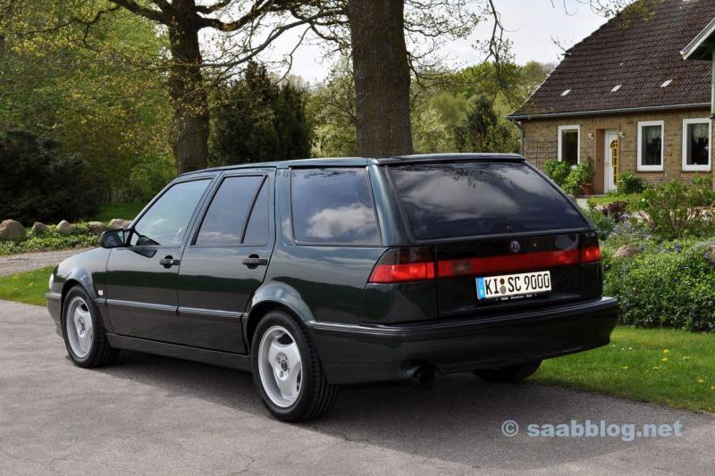 Premiär: Saab 9000 SC