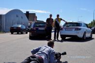 Fotografias da imprensa do motor 9-5 NG SC por Markus e blogger Michele