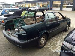 Saab 9000, ohne Dach. Soll mal ein Kombi werden.