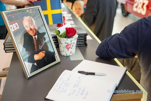 """Mr. SAAB"" Erik Carlsson memorial"