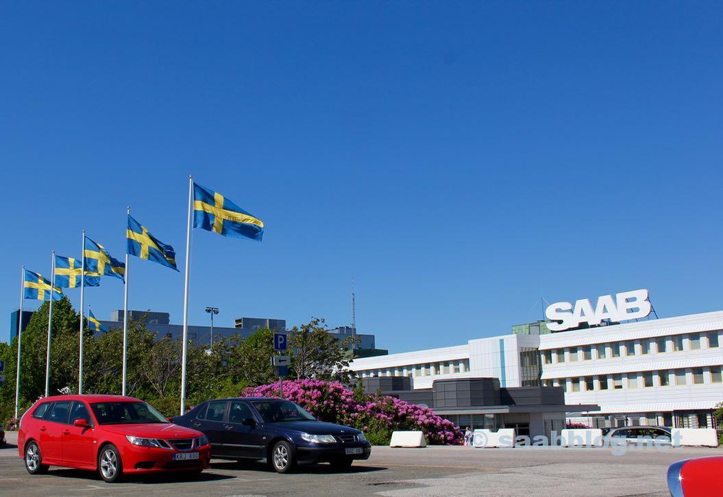 Saab plant Trollhattan