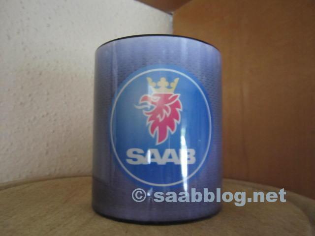 Saab Tasse von Peter. Sie braucht Gesellschaft und bekommt sie auch!