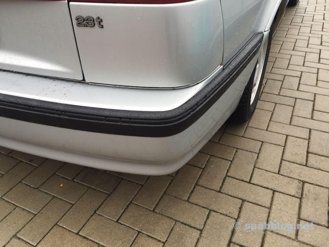 Bumper repainted