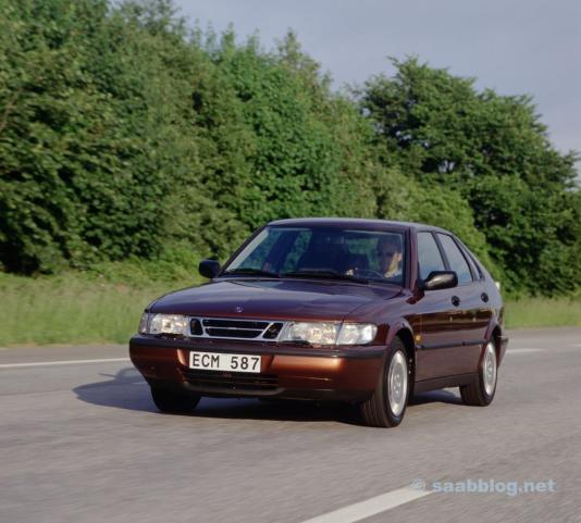 Saab 900 II. Mindestens 20 % sicherer als der Durchschnitt.