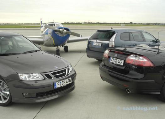 Saab 9-3 II. Al menos 20% más seguro que el promedio.