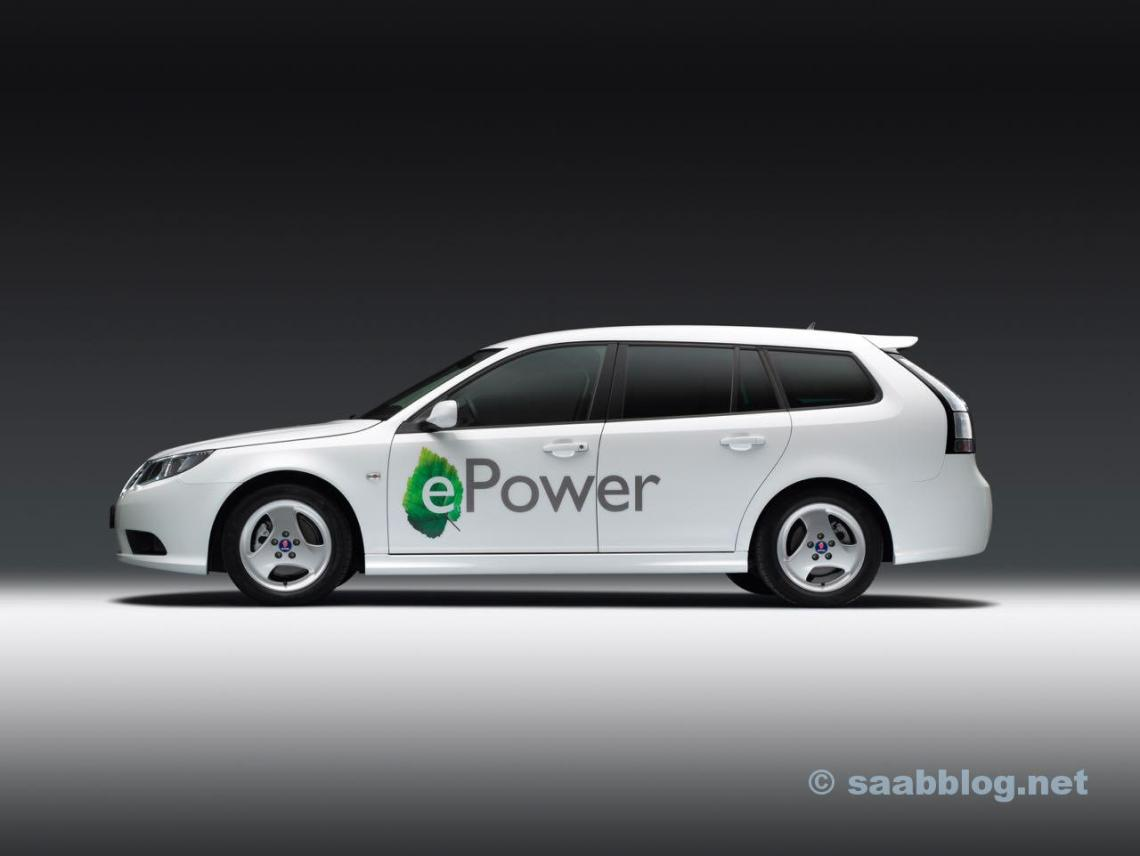 Saab 9-3 e-Power Concept